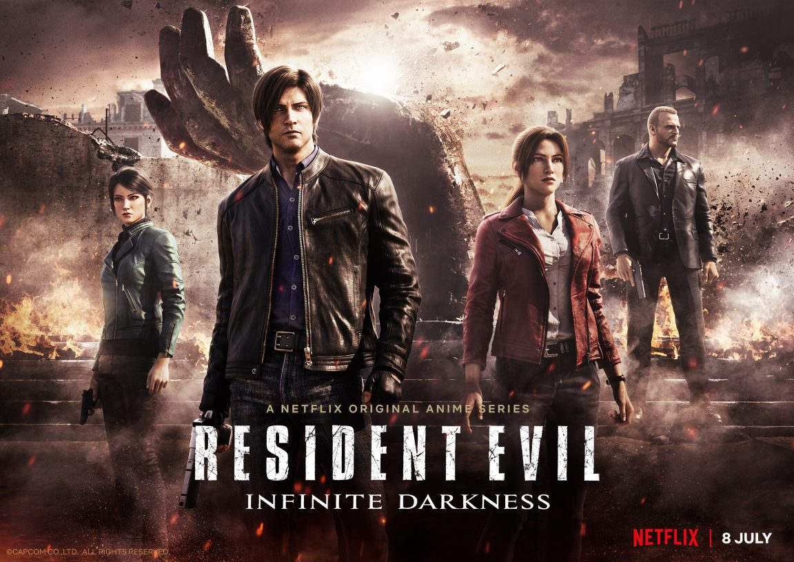 RESIDENT EVIL: INFINITE DARKNESS - With the Release date on July 8th; it's time to Meet the Characters!