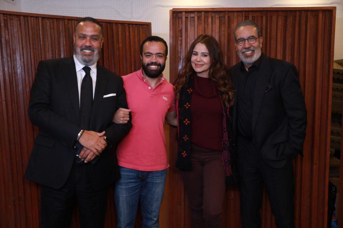 "Carole Samaha sings ""Elly Khan"", the Intro Song for ""Ded El Kasr"""