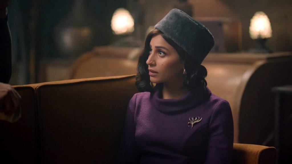 Dina El-Sherbiny is Slaying the fashion game in Qasr al-Nil!
