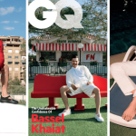 Bassel Khaiat Slays the cover of GQ Middle East in Fendi, Alexander McQueen, and Versace