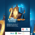 Majid Al Futtaim will let you have Desserts for a good cause!