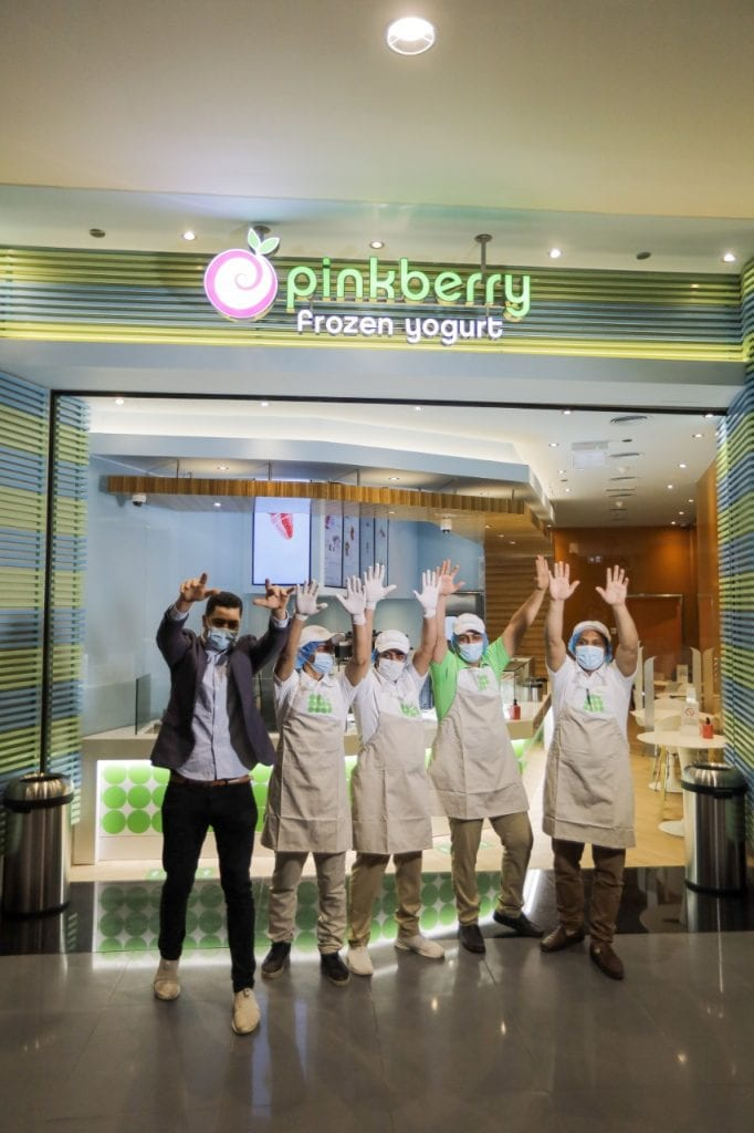 PINKBERRY OPENS ITS THIRD STORE OPENS IN CAIRO, EGYPT!